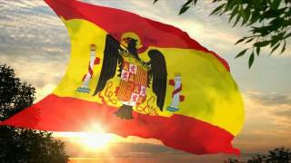 Flag And Anthem Of Spain (1945-1977)