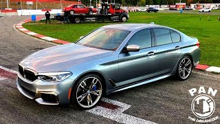 DRAG RACING my new 2018 BMW M550i !!!