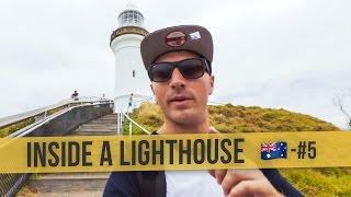 INSIDE A LIGHTHOUSE  | 🇦🇺 Australia Daily Vlog #5 | Byron Bay to Brisbane