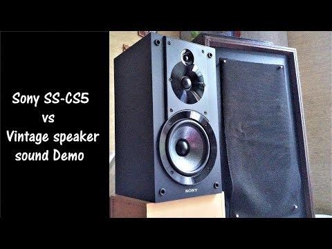 Buchardt S300 vs Sony SS-CS5 Sound Demo - смотреть онлайн на Hah Life