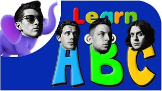 learn the alphabet with alex turner and friends