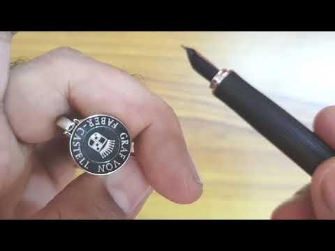 Graf von Faber-Castell Intuition Platino Grenadilla Fountain Pen Review