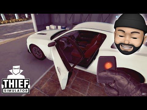 STEALING A SPORTS CAR!!   Thief Simulator #15