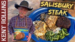 Salisbury Steak Recipe | Hungry Man TV Dinner Remake