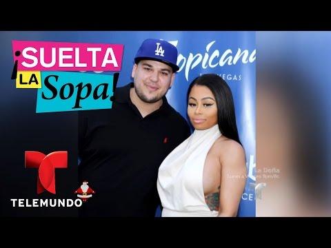 Suelta La Sopa | Blac Chyna dijo que Rob Kardashian le pidió que se fuera de su casa | Entrete
