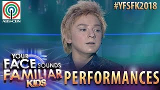 Your Face Sounds Familiar Kids 2018: Noel Comia Jr. as Barry Manilow | Somewhere Down The Road