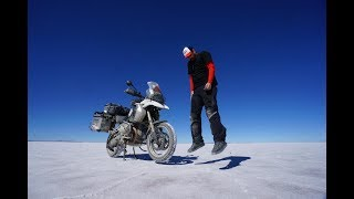 Teo Romera: Dos años de vuelta al mundo en moto