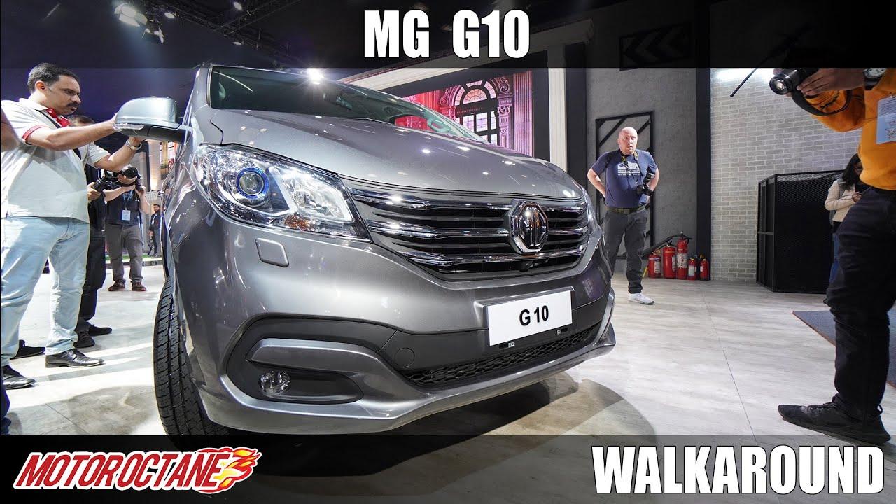Motoroctane Youtube Video - MG G10 - Innova Competition | Auto Expo 2020 | Hindi | Motoroctane