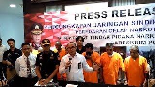 Bareskrim Ungkap Penyelundupan Sabu 38 Kg Jaringan Aceh-Malaysia
