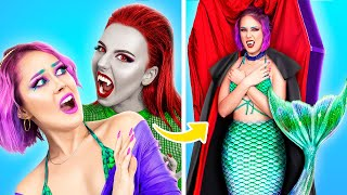 Mermaid vs Vampire! What if Your BFF Is a Vampire
