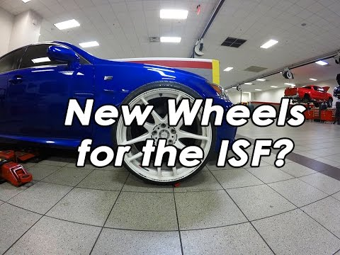 New Wheels for the Lexus ISF? Work Wheels