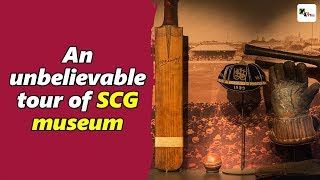 Watch: An unbelievable tour of Sydney Cricket Ground museum | SCG