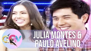 Julia Montes and Paulo Avelino share how they bond on the set of 'Walang Hanggan' | GGV