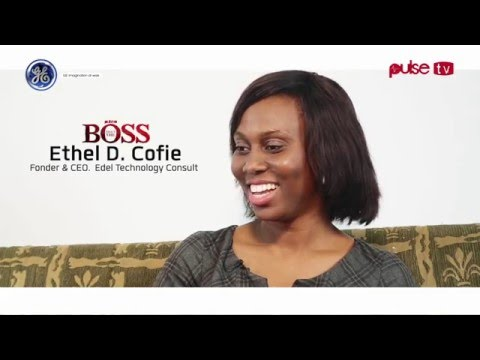 Meet The Boss: Ethel Cofie, one of the top 5 women changing IT in Africa