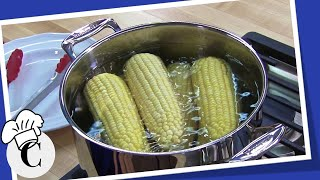How to Boil Corn on the Cob on the Stove! A Easy, Healthy Recipe!