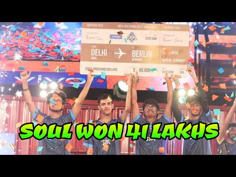 Soul won PMCO INDIA 2019 with prize money of RS 41 Lakhs