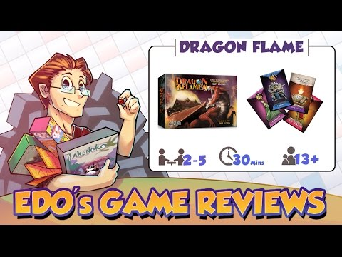 Edo's DragonFlame Card Game Review