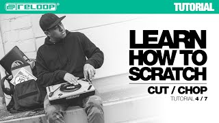 Learn how to Scratch with DJ Angelo: Cut / Chop (Reloop SPIN Tutorial 4/7)