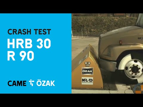 CAME Özak - Road Blocker Crash Test