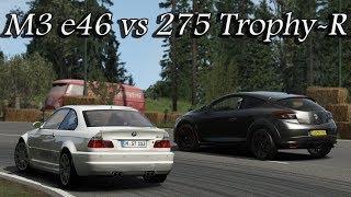 BMW M3 E46 vs Renault Megane RS 275