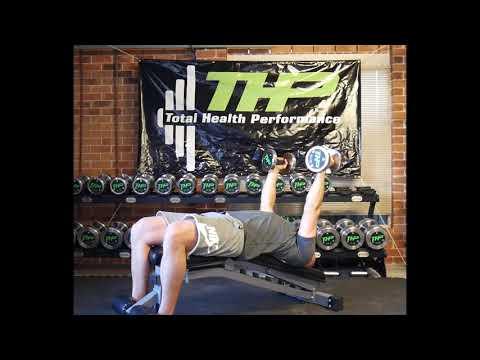 Decline Lying DB Triceps Extension Neutral Grip