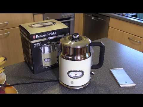 Russell Hobbs 21672-70 Retro Vintage Cream Wasserkocher