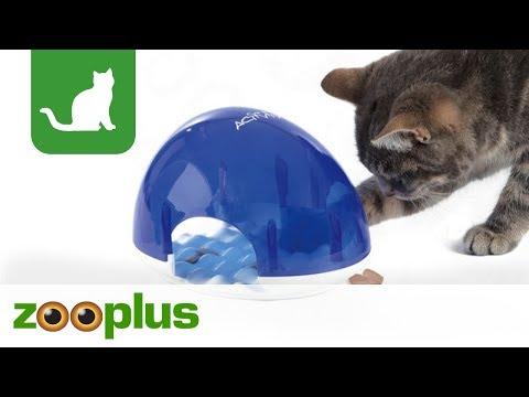 Katzenspielzeug Cat Activity Snack Box   zooplus