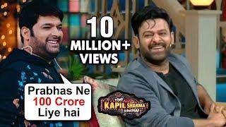 Kapil Sharma HILARIOUS Comedy With Prabhas And Shraddha Kapoor   Saaho   The Kapil Sharma Show