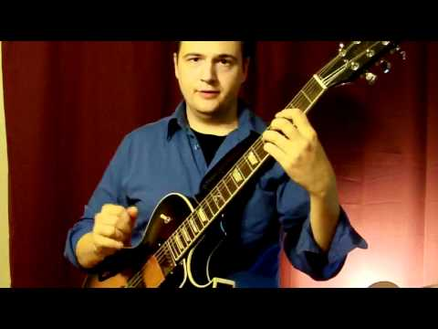 How to Play Jazz Guitar Chord Melody: Pick, Fingers, how should I play? Beginner Jazz Guitar Lesson