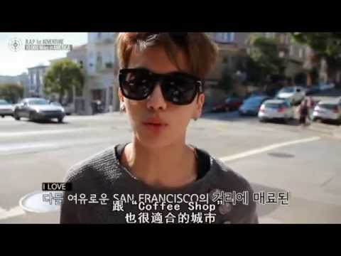 B.A.P 1st ADVENTURE 10,000 Miles in AMERICA - Coffee Shop MV Making (中字)
