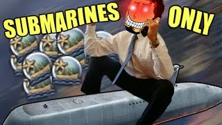 Hearts Of Iron 4: SUBMARINES ONLY (IS IT POSSIBLE?)