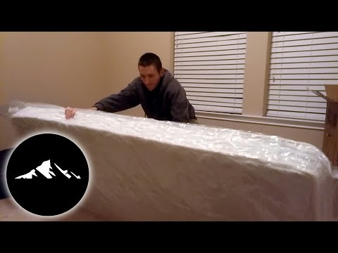 Zinus 6 inch Hybrid Foam and Spring Mattress, Narrow Twin | Unboxing 📦