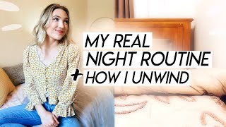 my REAL night routine for 2020   how I rest, develop a sleep routine, and get un-ready!