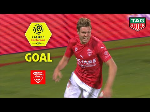 Goal Renaud RIPART (11′) / Nîmes Olympique – Olympique Lyonnais (2-3) (NIMES-OL) / 2018-19