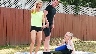 THE MOST AWKWARD YOGA CHALLENGE EVER!  (Day 112)