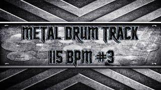 80's Heavy Metal Drum Track 115 BPM (HQ,HD)