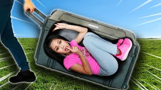 Weird Ways to SNEAK FRIENDS INTO POLICE CRIME SCENE | Escape This Box, Avoid Cops and Prison