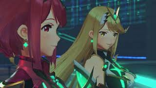 Pyra & Mythra Are Begging For Rex To Stop To Bring Them To Elysium.  . Xenoblade Chronicles 2 .