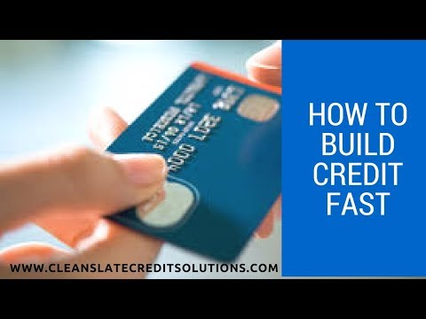 How to Build Credit Fast (Fingerhut)