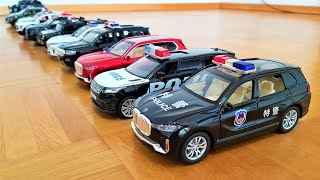 police cars with amazing sound and light diecast car models