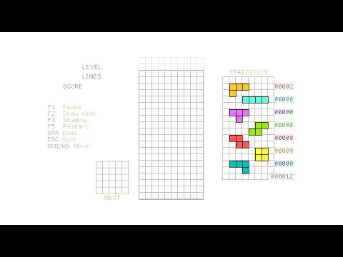 Tetris #1 – HTML5 Game Programming Tutorial [javascript]