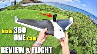 Insta360 ONE Camera Review & Flight Test on Parrot Disco Drone - Hawaii
