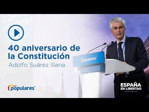 Recordamos el 40 aniversario de la Constitución, con Adolfo Suárez Illana