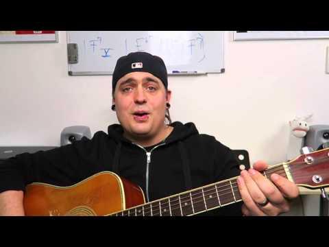 GITARRE LERNEN FÜR ANFÄNGER - Das Spielen auf einer Saite - #GitarrenHeld 1 //Joe Filmt