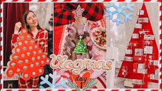 VLOGMAS # 1 GIFT EXCHANGE! 62 GIFTS! DIY Advent Calendar 2020! We open gifts every day!