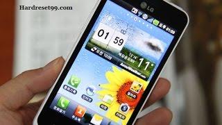 LG LU6800 Hard reset, Factory Reset & Password Recovery