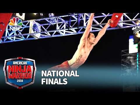 Thomas Stillings at the National Finals: Stage 1 - American Ninja Warrior 2016
