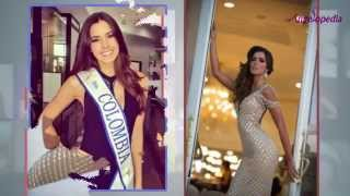 Paulina Vega Dieppa from Colombia  - Miss Universe 2014 Top 20 Favourites