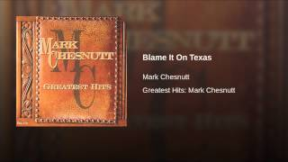 Blame It On Texas