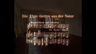 Die Ehre Gottes aus der Natur, Op. 48 /4. Ludwig van Beethoven